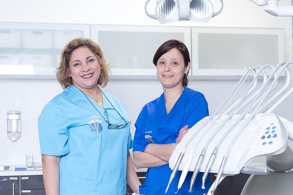 Dr Patricia Valente et son assistante