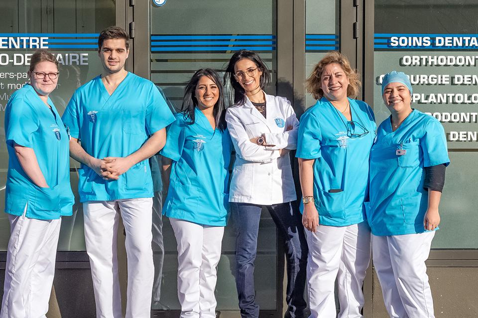 Equipe du centre dentaire